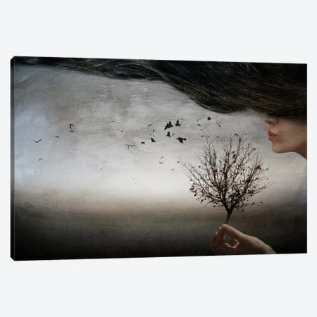 Autumn Mood Canvas Print #OXM2583} by Elisaveta Jordanova Art Print