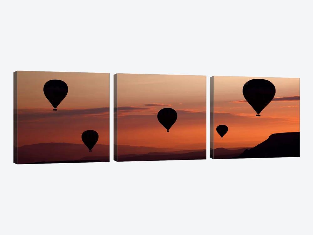 Balloons by Engin Karci 3-piece Canvas Art Print