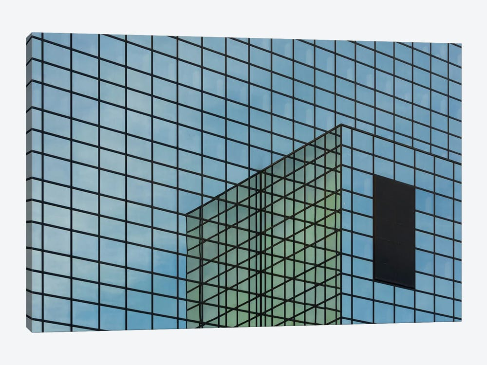 Façade In Blue by Greetje van Son 1-piece Canvas Art