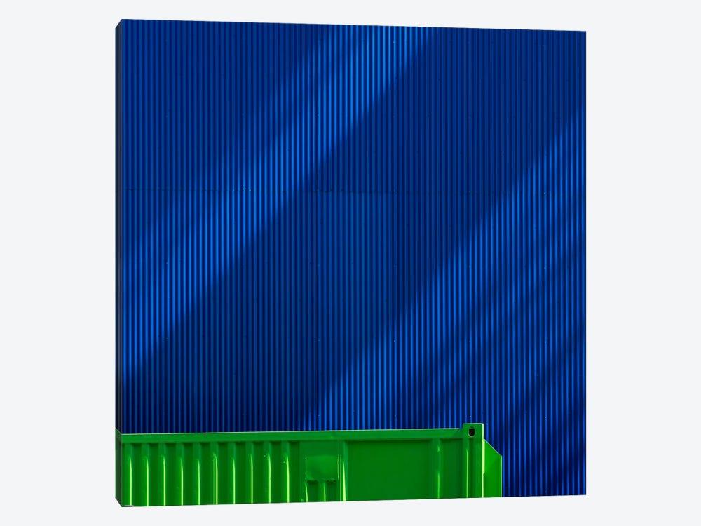 Green Against Blue by Greetje van Son 1-piece Art Print