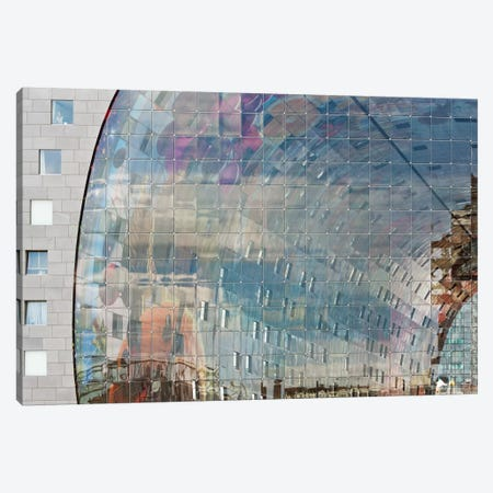 Movement Behind Façade Canvas Print #OXM2596} by Greetje van Son Canvas Print