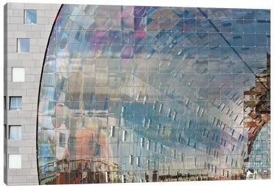 Movement Behind Façade Canvas Art Print
