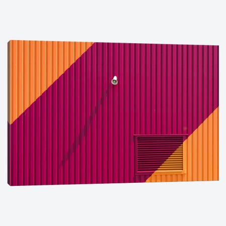 Orange Corners Canvas Print #OXM2598} by Greetje van Son Canvas Artwork