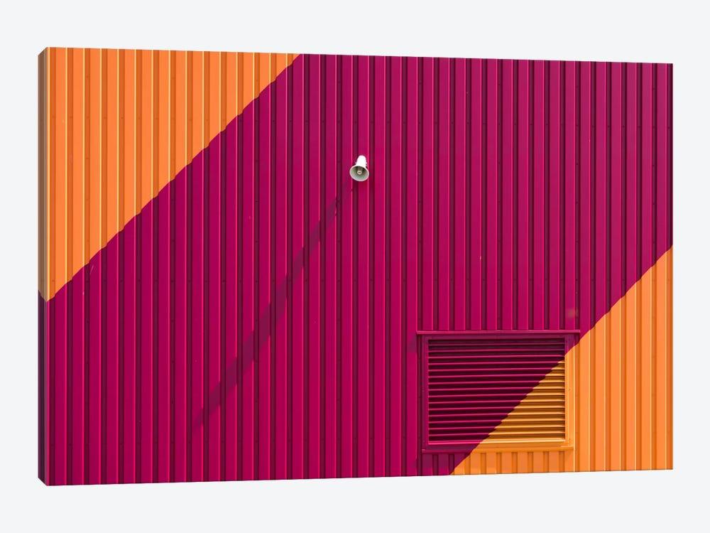 Orange Corners by Greetje van Son 1-piece Canvas Artwork