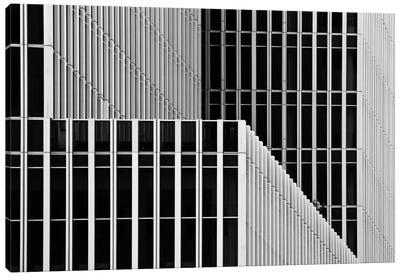 Stripes And Windows Canvas Art Print