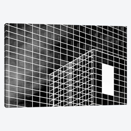 The White Rectangle Canvas Print #OXM2600} by Greetje van Son Canvas Wall Art