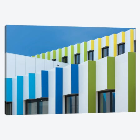 Triple Facades Canvas Print #OXM2602} by Greetje van Son Canvas Wall Art
