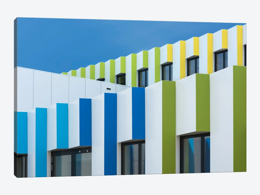 Triple Facades by Greetje van Son 1-piece Art Print
