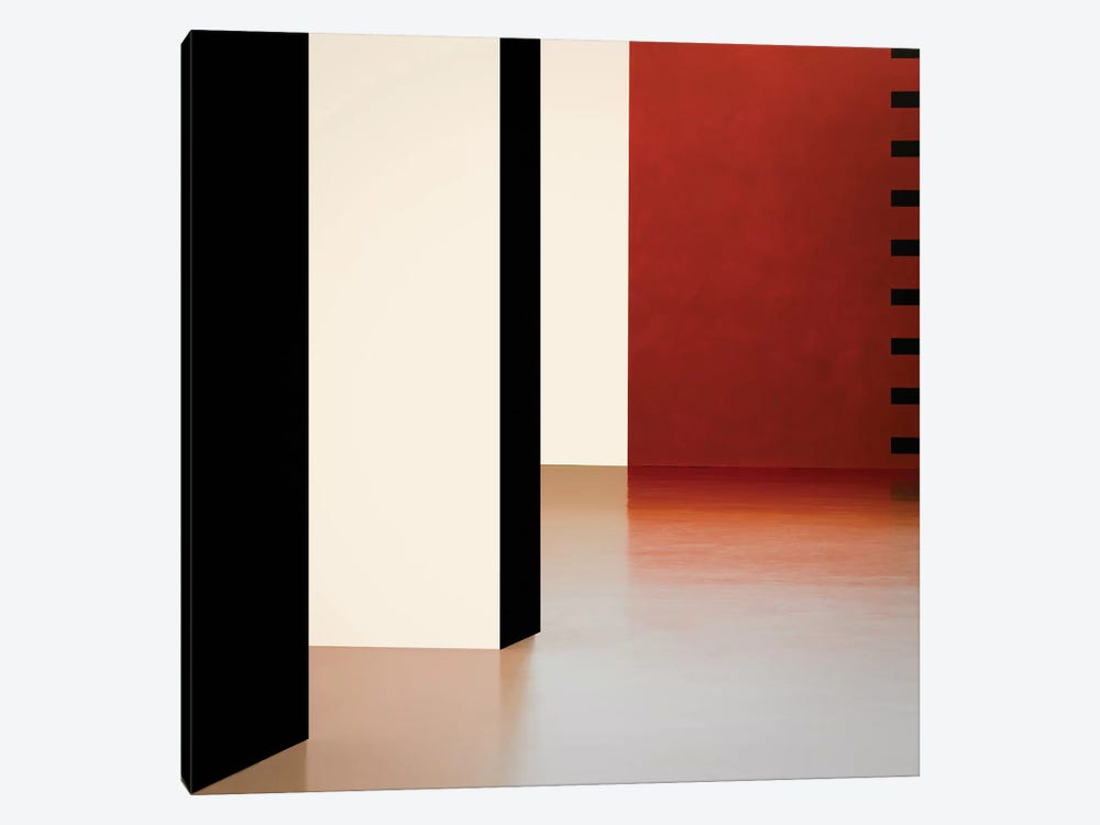Colored Walls by Inge Schuster 1-piece Canvas Wall Art