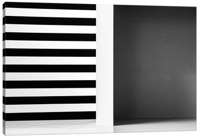 Stripes And Shadows Canvas Art Print