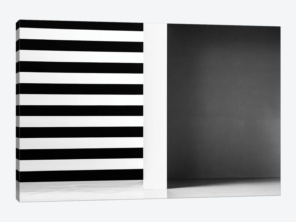 Stripes And Shadows by Inge Schuster 1-piece Canvas Art