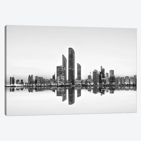 Urban Reflection Canvas Print #OXM261} by Akhter Hasan Canvas Artwork