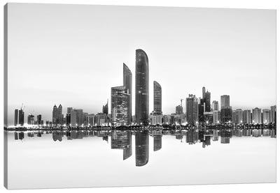 Urban Reflection Canvas Art Print