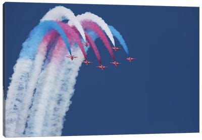 Red Arrows Canvas Art Print