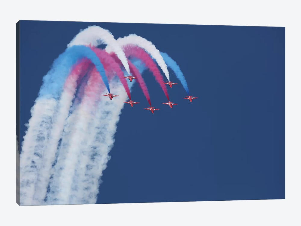 Red Arrows by Jonathan Simons 1-piece Art Print