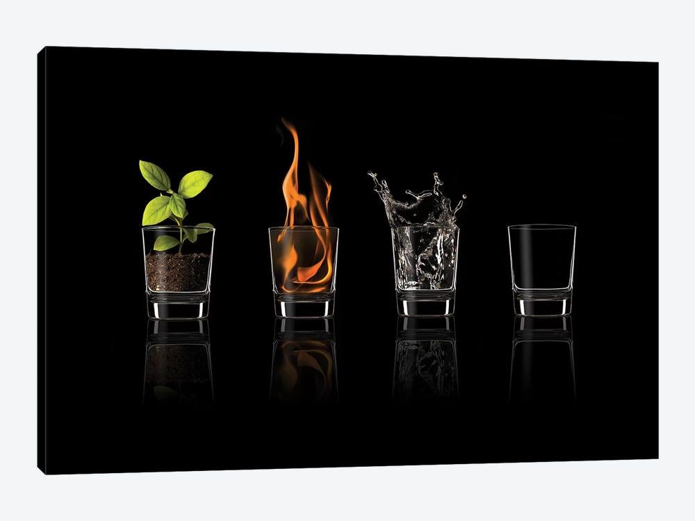 Elements... by Jose María Frutos 1-piece Canvas Wall Art
