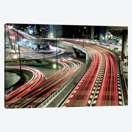 Chaotic Traffic Canvas Print #OXM2631} by Koji Tajima Canvas Art Print