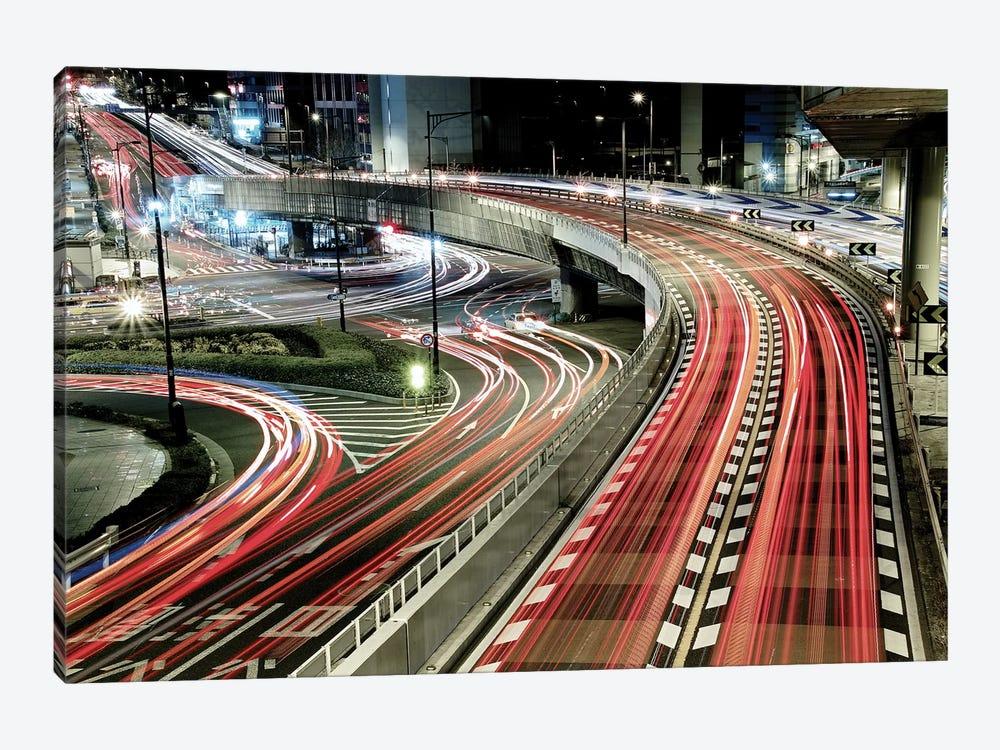 Chaotic Traffic by Koji Tajima 1-piece Art Print