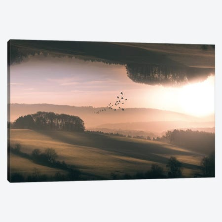 Interplanar Canvas Print #OXM2636} by Marcus Hennen Canvas Wall Art
