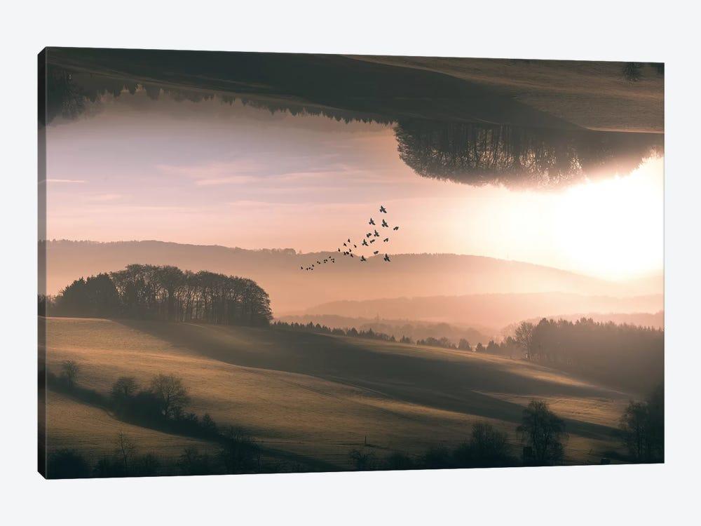 Interplanar by Marcus Hennen 1-piece Canvas Artwork