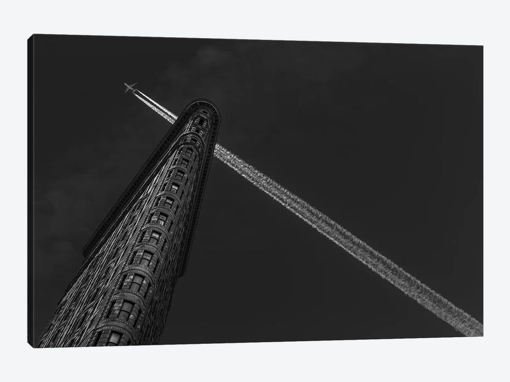 New York - Flatiron Crossing by Michael Jurek 1-piece Canvas Print