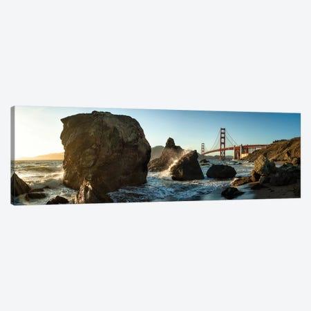 The Golden Gate Bridge Canvas Print #OXM2640} by Michael Kaupp Canvas Artwork