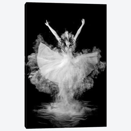 Powder Burst Canvas Print #OXM2647} by Pauline Pentony Art Print