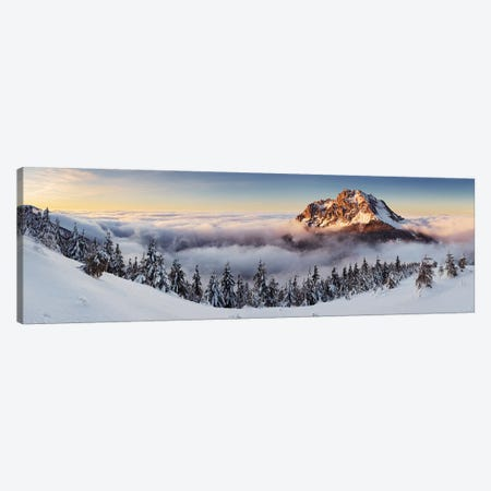 Golden Peak Canvas Print #OXM2653} by Tomas Sereda Canvas Art Print
