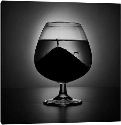 Alcoholism Canvas Art Print