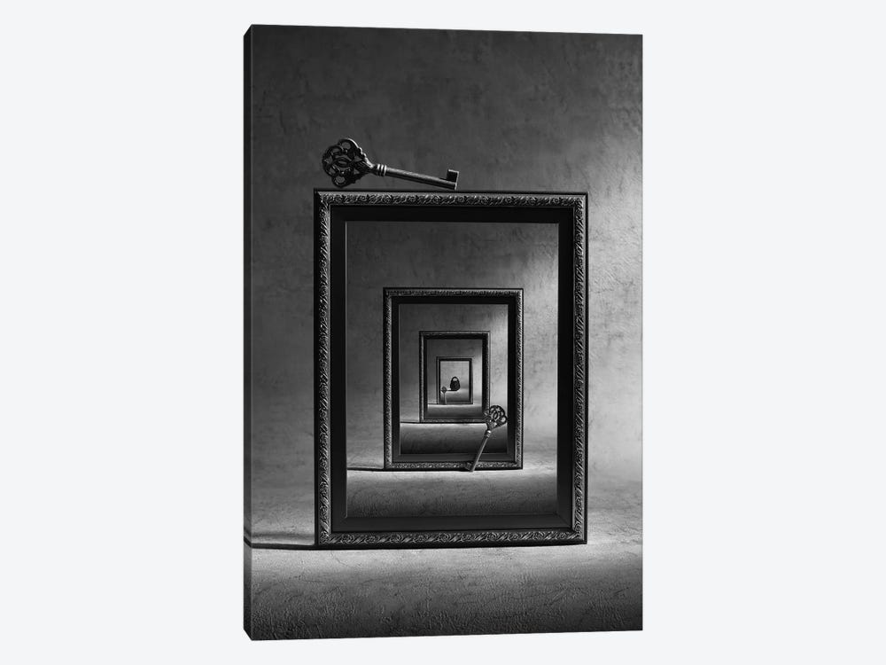 Locked Up 1-piece Canvas Wall Art