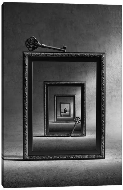 Locked Up Canvas Art Print