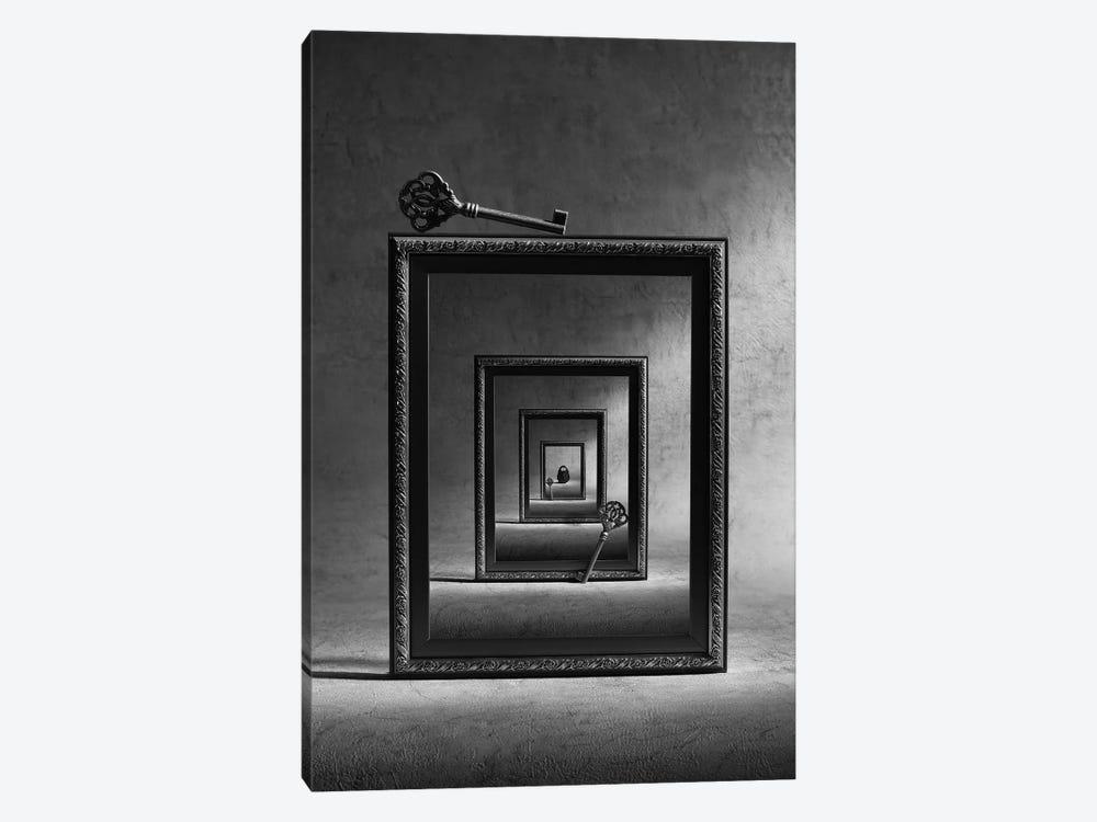 Locked Up by Victoria Ivanova 1-piece Canvas Wall Art