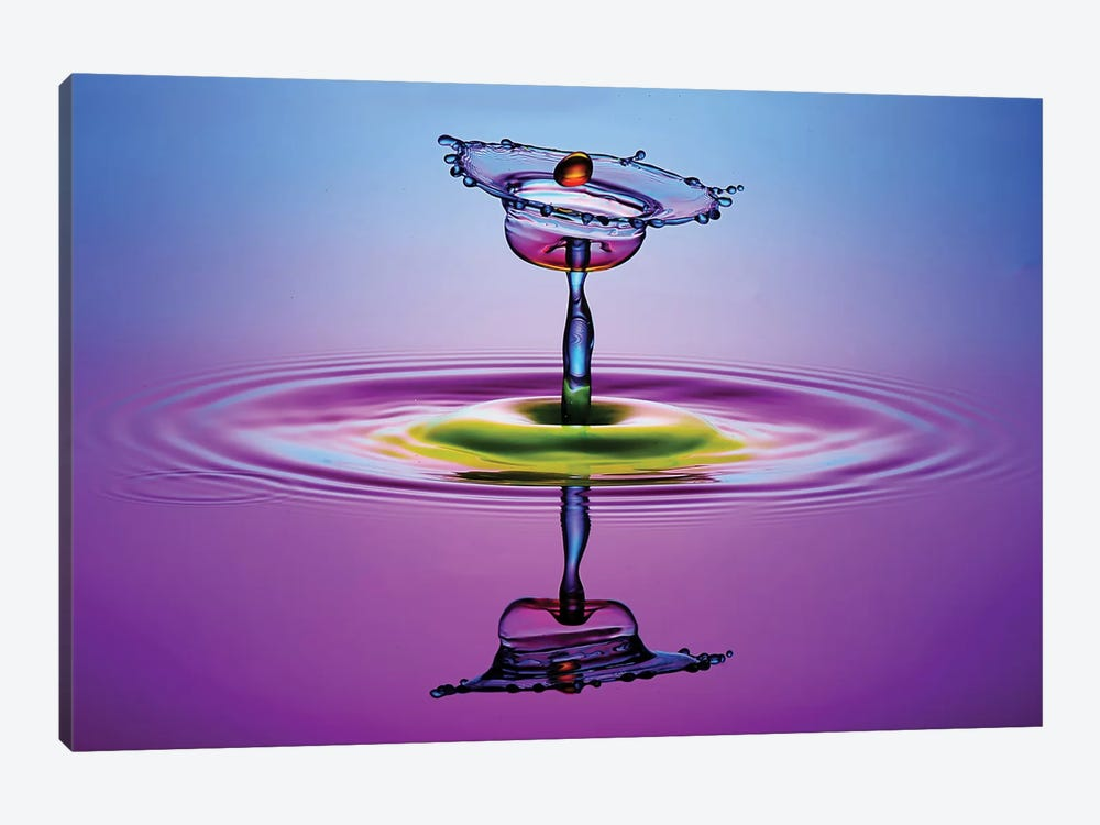Chalice Colors Full by Muhammad Berkati 1-piece Canvas Print