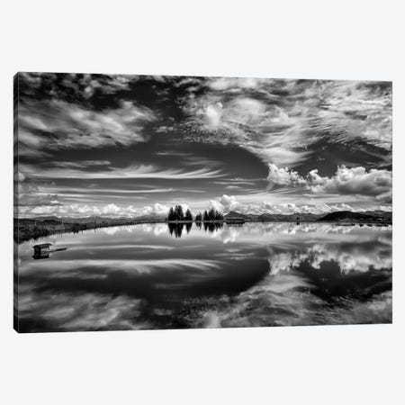 The Mirror Of The Clouds 3-Piece Canvas #OXM2675} by Aida Ianeva Canvas Art