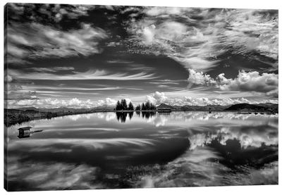 The Mirror Of The Clouds Canvas Art Print