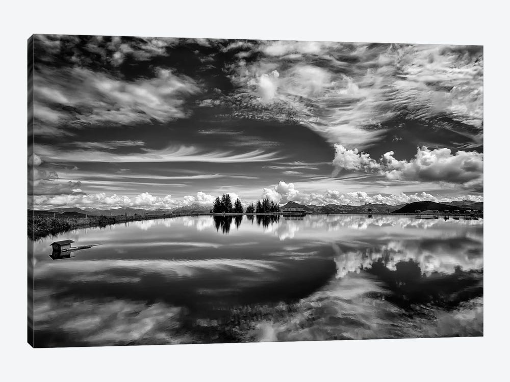 The Mirror Of The Clouds by Aida Ianeva 1-piece Canvas Print