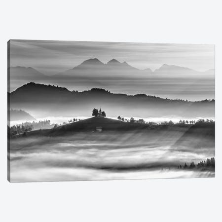 Morning Rays Canvas Print #OXM2677} by Ales Krivec Canvas Art