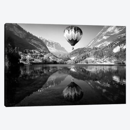 La Mongolfiera Canvas Print #OXM2683} by Andrea Auf Dem Brinke Canvas Wall Art