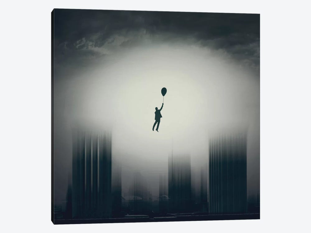 Going Up by Asef Azimaie 1-piece Canvas Print