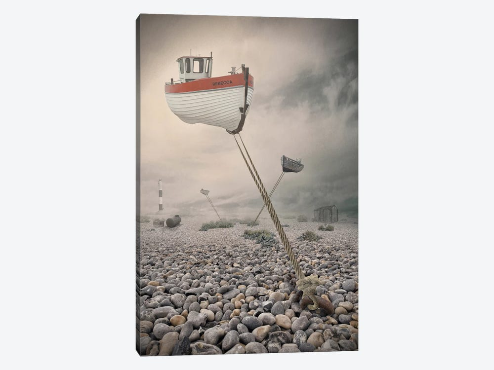 Low Tide by Baden Bowen 1-piece Canvas Art Print