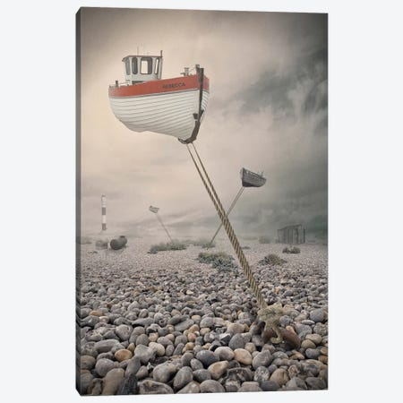 Low Tide Canvas Print #OXM2699} by Baden Bowen Art Print