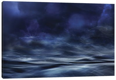 Lost At Sea Canvas Art Print