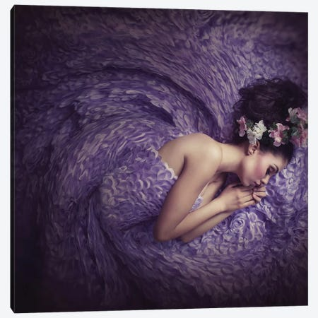 Mermaid Dream Canvas Print #OXM2739} by hardibudi Canvas Artwork