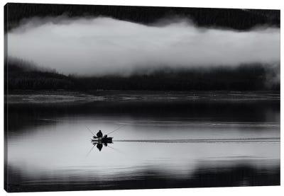 Fishing Passion Canvas Art Print
