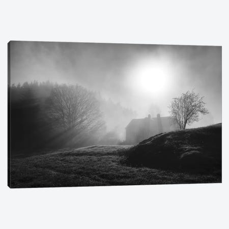 Pastoral Song Canvas Print #OXM2770} by Lars Arvid Hellebø Canvas Art