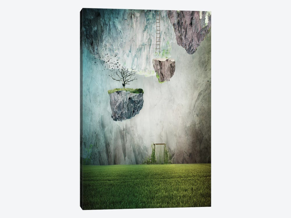 The Islands Of Oblivion 1-piece Canvas Wall Art