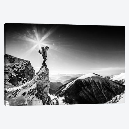 Life At The Top Canvas Print #OXM2786} by Marian Krivosik Canvas Art