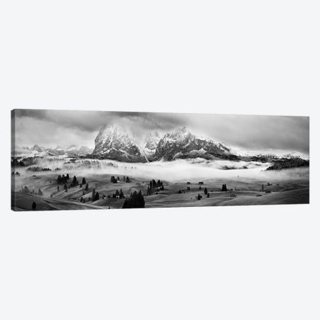 Foggy Dolomites Canvas Print #OXM2787} by Marian Kuric Canvas Art