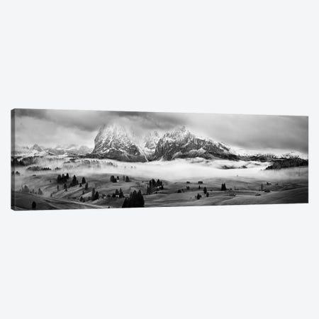 Foggy Dolomites Canvas Print #OXM2787} by Marian Kuric Canvas Art