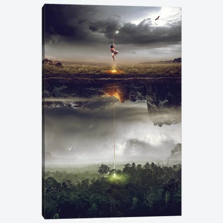 Save The World Canvas Print #OXM2792} by Mas Heri Canvas Artwork